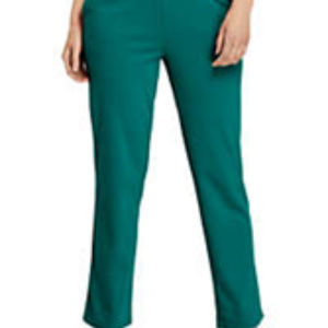 Lands' End Olive Cotton Knit Pants Sized Large NWT
